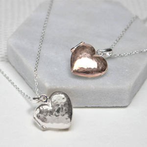 Personalised Message Heart Locket Necklace - shop by occasion