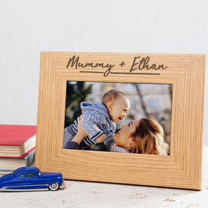 Personalised Mummy And Me Photo Frame - personalised sale