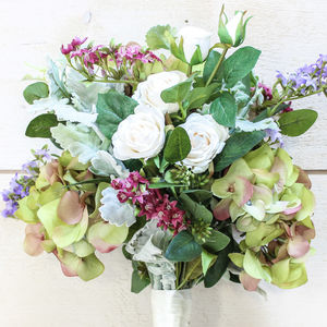 The Clare Artificial Flower Bridal Bouquet - flowers, plants & vases