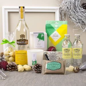 Luxury Gin Lovers Gift Hamper - food hampers