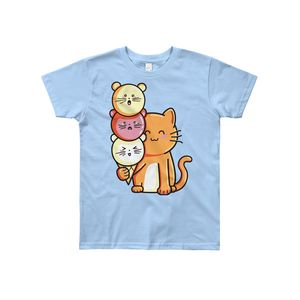 Cute Cat And Ice Cream T Shirt