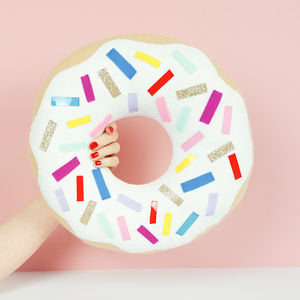 Doughnut Decorative Cushion - best gifts for girls