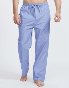 Men's Burford Stripe Cotton Pyjama Trousers - men's fashion