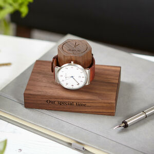 Range Of Personalised Time And Date Watch Stands