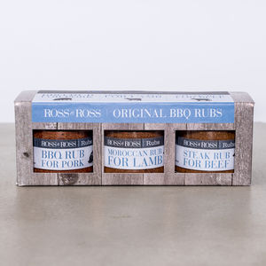 Original Bbq Rubs Trio Pack