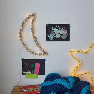 Pom Pom Moon Wall Light