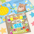 Personalised 6th Birthday Children's Book