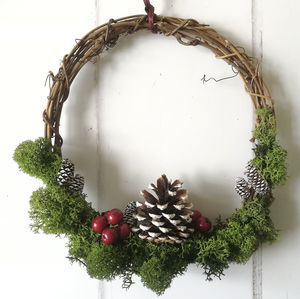 Christmas Winter Wreath Craft Kit
