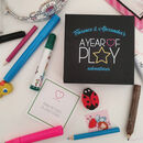 A Year Of Play Personalised Family Activity Cards