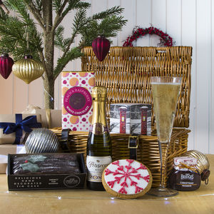 Prosecco Afternoon Tea Time Gift Hamper