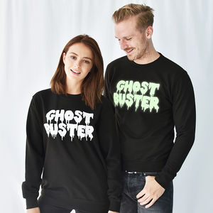 'Ghost Buster' Halloween Unisex Sweatshirt Jumper - fancy dress