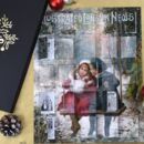 Personalised Vintage London News Christmas Advent Pack
