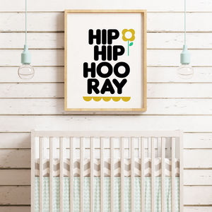 Hip Hip Hooray Print