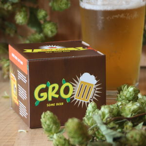 Grow Your Own Beer Gro'pot Set - wines, beers & spirits