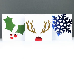 Foil Christmas Card Multipack - cards