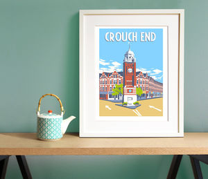 Crouch End Giclee Print