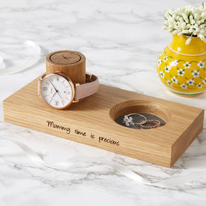 Personalised Wooden Jewellery Stand - summer sale