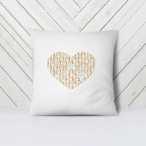 Mother's Day Personalised Cushion