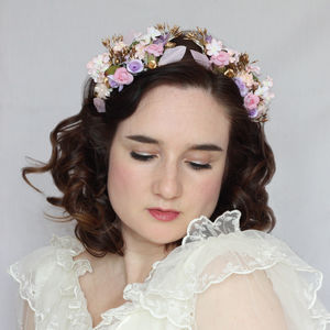 Meadow Floral Headdress