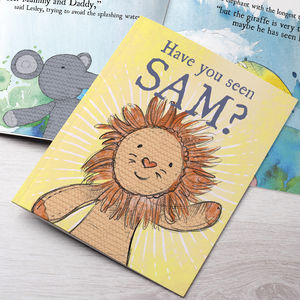 Personalised Lion Story Book - gifts for children