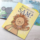 Personalised Lion Story Book