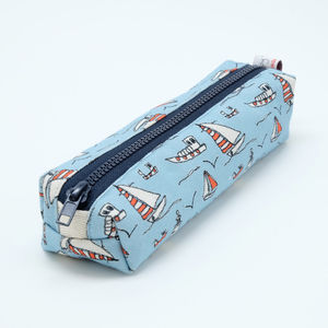 Seaside Pencil Case - writing