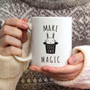 Make Your Own Magic Ceramic Mug