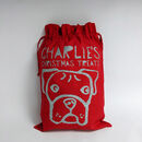 Personalised Dog Christmas Gift Sack - boxer