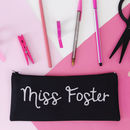 Teacher's Personalised Pencil Case