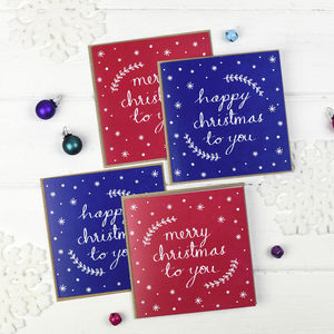 Christmas Cards Pack - summer sale