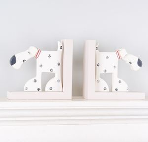 Oscar The Dog Wooden Bookends - gift sets