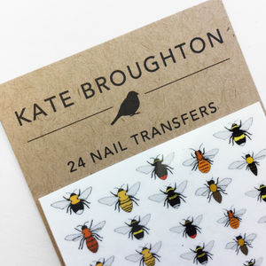 Bee Nail Art Transfers