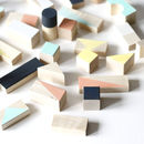 Mixed Wooden Blocks
