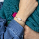 joy happy positive vibes bracelet