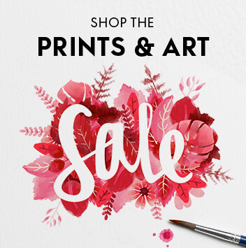 shop prints and art sale