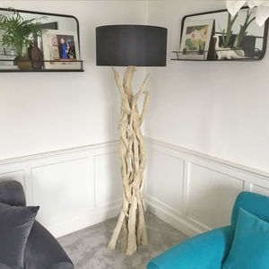 Branched Driftwood Floor Lamps - furnishings & fittings