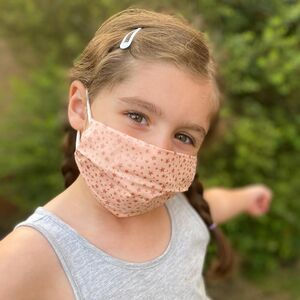 Face Coverings For Children With Pocket For Filter