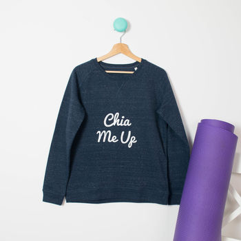 Chia Me Up Organic Cotton Pilates Jumper
