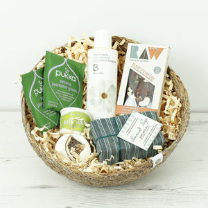 Gardener's Gift Basket - skin care sets