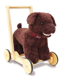 Peter Puppy Push Along Baby Walker - traditional toys & games