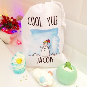 Personalised Children's Bath Bomb Gift Set