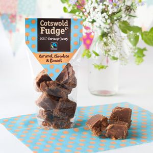 Caramel, Chocolate And Seasalt Fudge - chocolates & confectionery