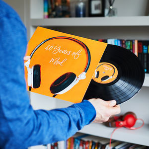 Personalised Twelve Inch Vinyl Record - personalised