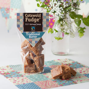 Traditional Butter Fudge - chocolates & confectionery