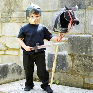 Hobby Horse Knight Set Age 3+ - children's parties