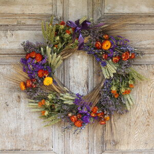 The Brobury Dried Flower Wreath