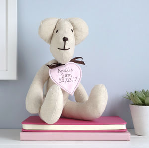 Personalised Teddy Bear For Her - teddy bears
