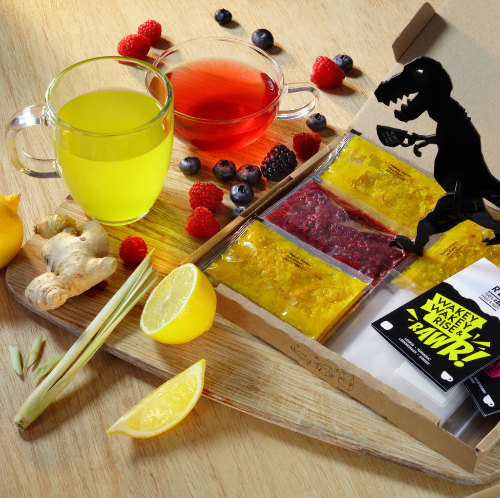 Mixed Pack Of Lemon Turmeric And Triple Berry Tea