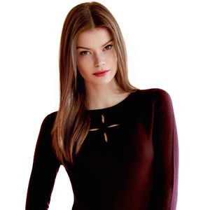 30% Off Christmas Day Top In Bordeaux - tops