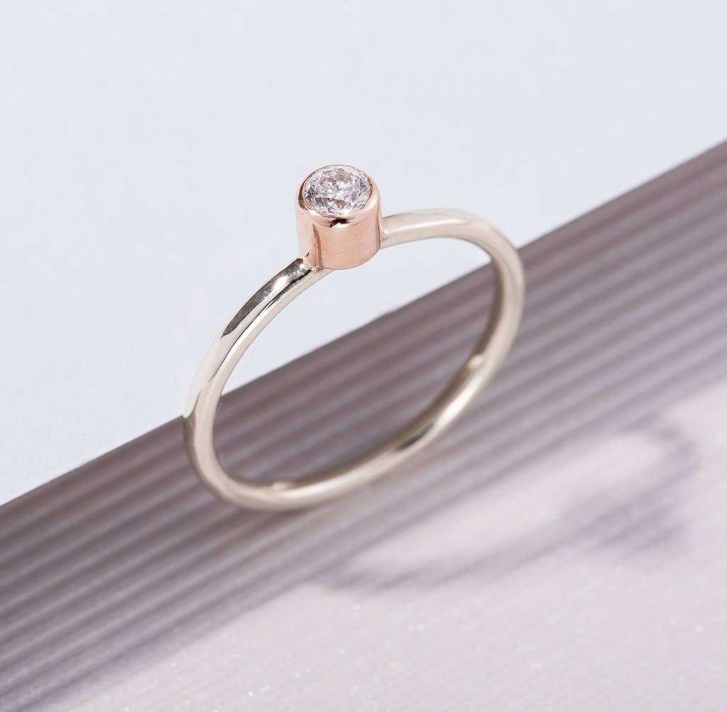 il promise bands fullxfull band wedding moissanite ring rose engagement stacking sets bridal plain cut gold oval rings